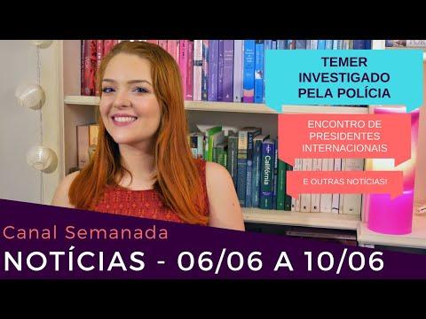 TEMER INVESTIGADO PELA POLÍCIA, ENCONTRO DE PRESIDENTE, DEPRESSÃO e mais! - Semanada