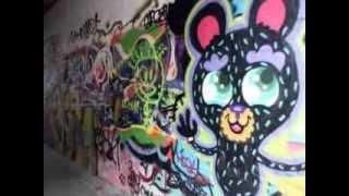 Beautiful Graffiti in the City of Ghent