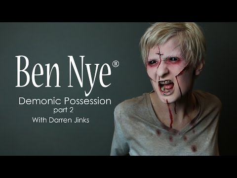 How To: Demonic Possession Part 2 with Ben Nye Makeup