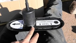 installing-raymarine-rv-320-sonar-transducers-and-attaching-anodes
