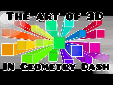 3D or 4D Objects Tutorial! PLUS BONUS TUTORIAL! Geometry Dash 2.0 -- 2.X