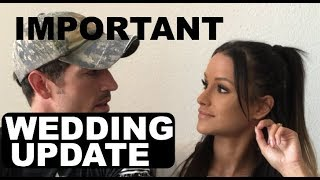IMPORTANT WEDDING UPDATE | Jessica and Cody