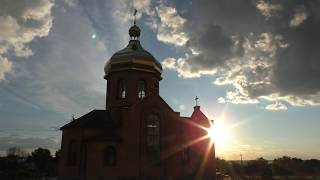 Южноукраинск - Константиновка - паром - закат - четверостишье(Омар Хойям) музыка(группа Параграф)