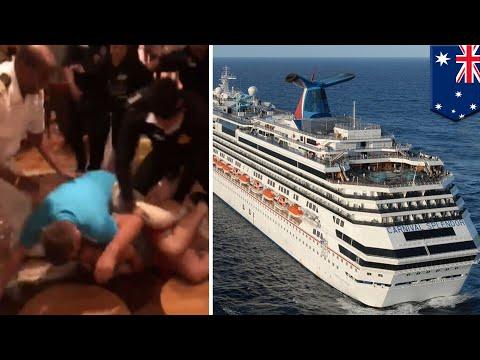 Perkelahian besar dalam pelayaran South Pacific Carnival - TomoNews
