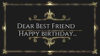 Heart Touching letter to best friend for birthday || birthday wishes for best friend || happy B'day
