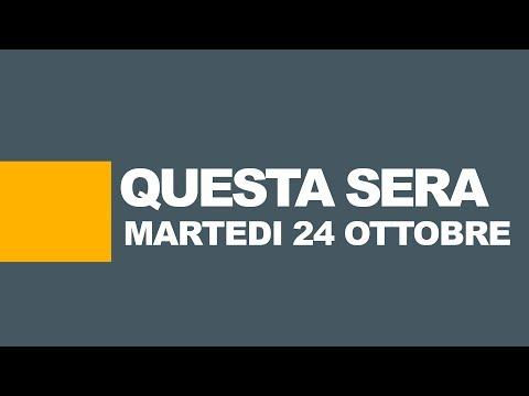 Stasera in tv, programmi tv e film in prima serata | 24 ottobre 2017