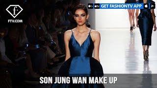 New York Fashion Week Spring/Summer 2018 - Son Jung Wan Make Up | FashionTV