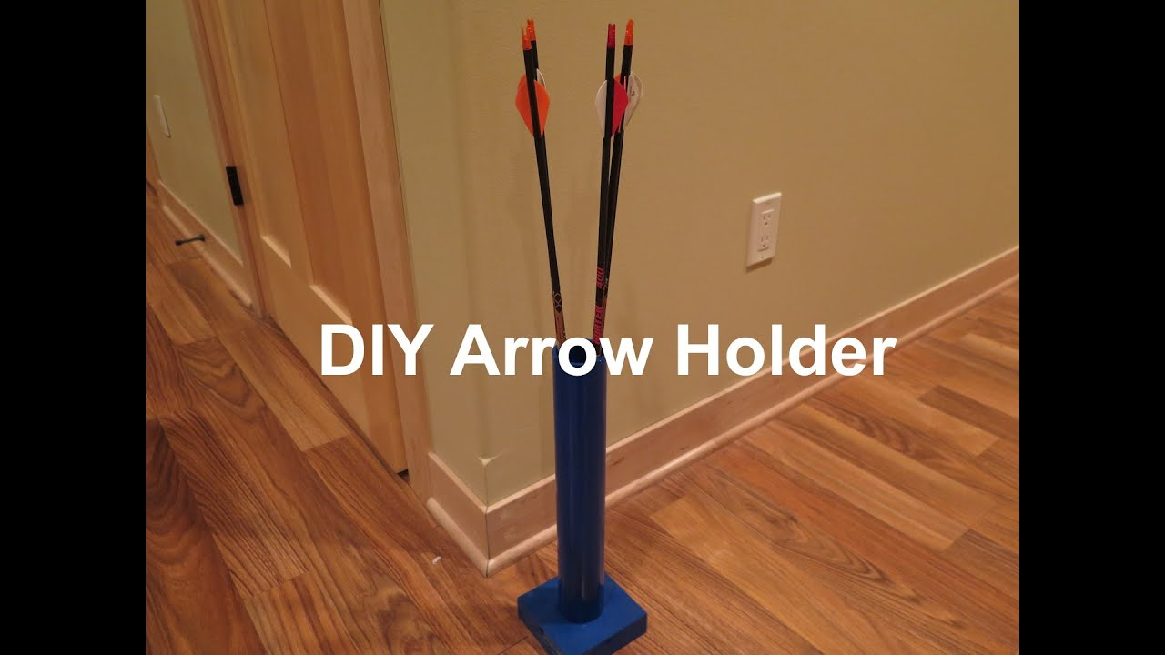 Diy Arrow Holder Youtube