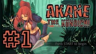 Akane the Kunoichi  #1 - Уровни 1-1 и 1-2 | Steam | PC