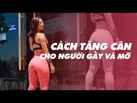 Cách tăng cân cho người gầy | Nutrition ♡ Hana Giang Anh
