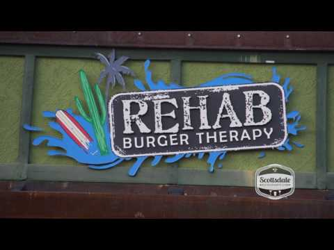 Scottsdale Restaurants | Rehab Burger Therapy Video Review