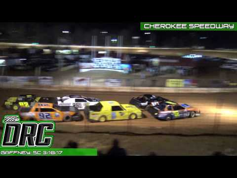 Cherokee Speedway | 3.18.17 | SECA Crate Sportsman | Feature