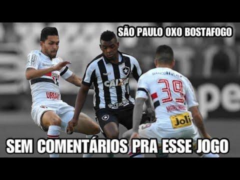 SÃO PAULO 0 X 0 BOTAFOGO NARRAÇÃO DA ZUEIRA - BRASILEIRÃO 2017