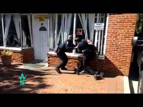 [street fight] real man KO's police in baltimore