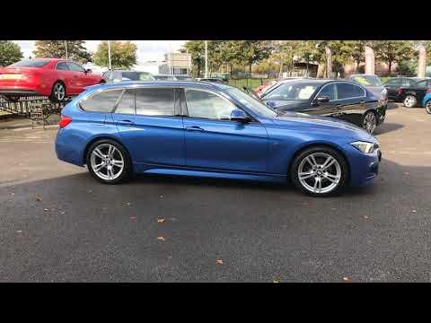 Metallic Estoril Blue BMW 3 Series 2.0 320d M Sport Touring (s/s) 5dr Estate