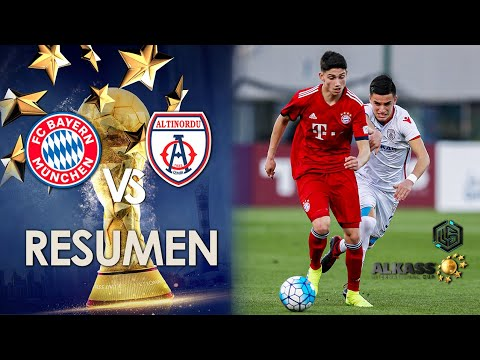 Bayern Munich vs Altinordu FK Al kass International Cup 2019