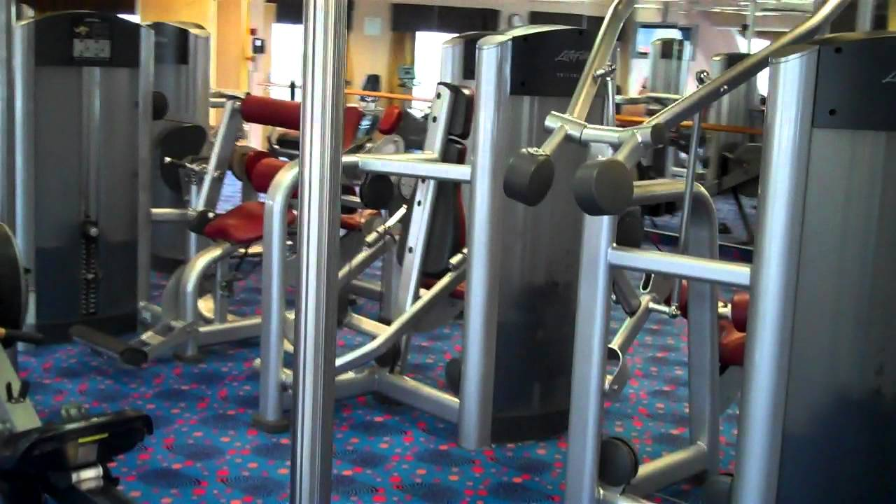 Gym on the Carnival Fascination by Scott Lara @scottlara1961 - YouTube