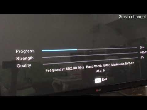 How to setup DTTV MYTV DVB-T2 Digital Decoder Cara Pemasangan Dekoder MYTV  MyFreeView Malaysia