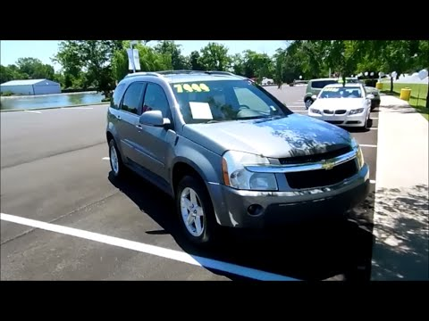 2006 Chevrolet Equinox LT V6 AWD Start Up and Full Tour  YouTube