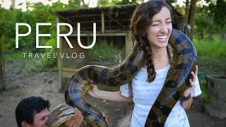 Peru Travel Vlog - Machu Picchu & The Amazon | Gardiner Sisters