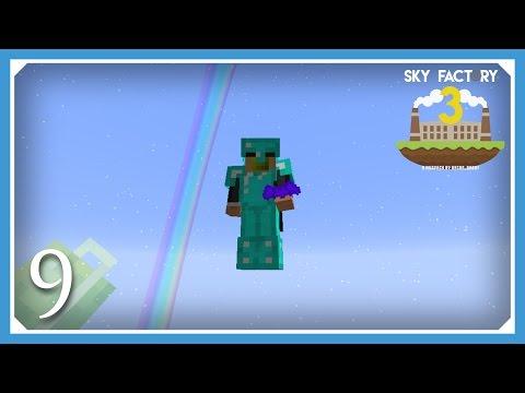 FTB Sky Factory 3 | Wings of the Bats! | E09 (Modded Skyblock Minecraft 1.10.2)