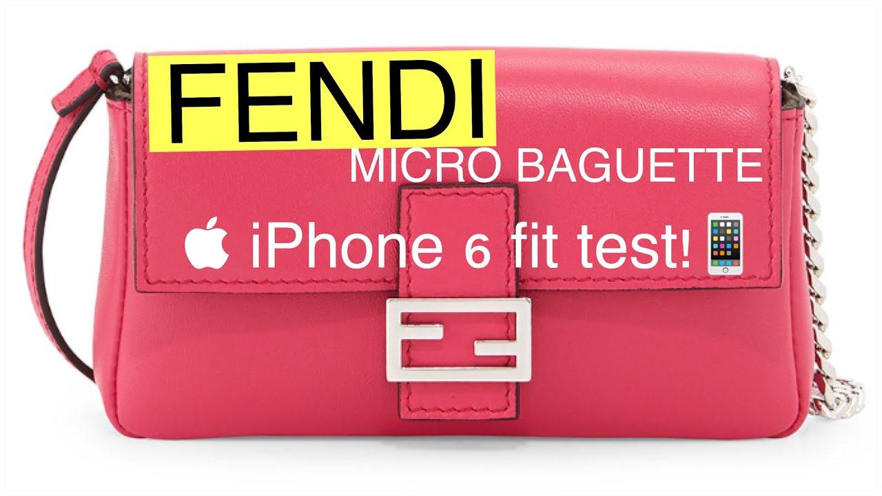 e131c063a9 FENDI Micro Baguette