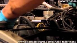Buick GMC Auto HVAC Air Conditioning Service AC Leak Repair Grand Blanc Flint Michigan Al Serra Aut