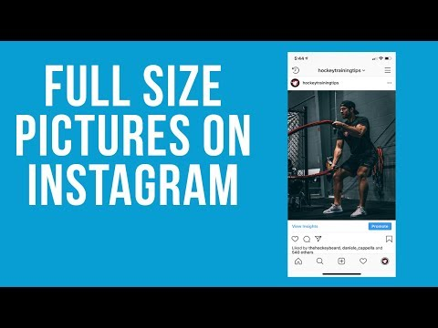 How to fit your profile picture on instagram