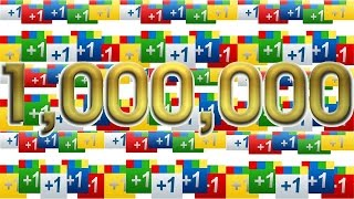Скачать Counting To 1 000 000 In One Video By Adding 1