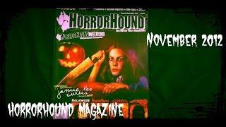 HorrorHound Magazine November 2012 Jamie Lee Curtis Opening & Flip Through