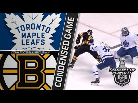 04/14/18 First Round, Gm2: Maple Leafs @ Bruins