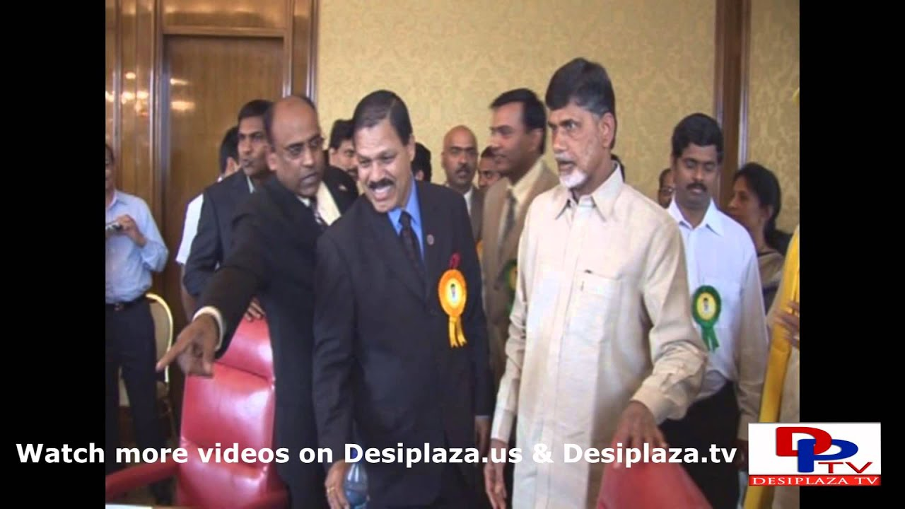 Part 2. Mr.Chandrababu Naidu's visit to Dallas in the year 2007.