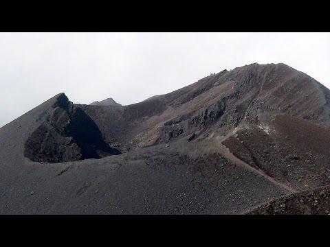 Treking on active vulcano - Mt. Cameroon - February 2017