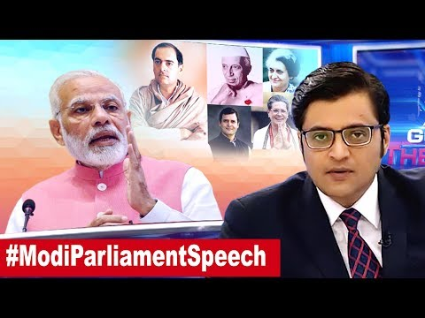 Modi Attack Too Harsh Or Justified? | The Debate With Arnab Goswami