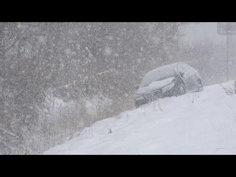 Pulaski, NY Heavy Lake Effect Snow - 12/13/2017