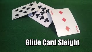 Easy Card Trick Sleight - The Glide Explained