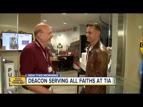 Tampa Airport's chaplain is busy with prayers for travelers