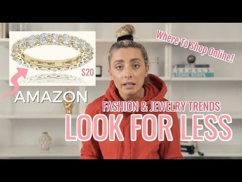 LOOK FOR LESS: POPULAR JEWELRY & CLOTHING DUPES!   Lauren Elizabeth