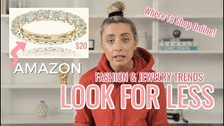LOOK FOR LESS: POPULAR JEWELRY & CLOTHING DUPES! | Lauren Elizabeth