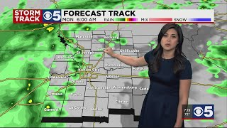 FORECAST: Rain, thunder possible on both Monday and Tuesday