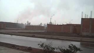 Contaminación por ladrillera - Distrito de Carabayllo (Urb. Esmeralda - INMOBILIARIA CENTENARIO)