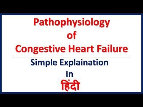 Congestive Heart Failure: Pathophysiology (Simple explaination in Hindi) | Bhushan Science
