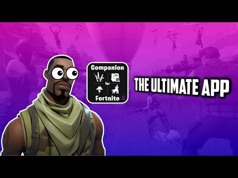 The ULTIMATE Fortnite App!!!!|Fortnite Companion App