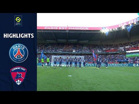 PARIS SAINT-GERMAIN - CLERMONT FOOT 63 (4 - 0) - Highlights - (PSG - CF63) / 2021-2022