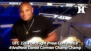 Ufc 226 Post Fight Presser Daniel Cormier