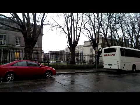 Howling winds on Marlboro Street, Dublin 1...12 February 2014