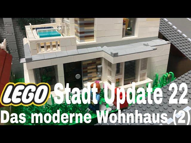 Lego Stadt Update 22/ Das moderne Wohnhaus (2)