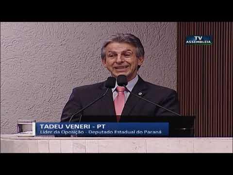 Deputado Tadeu Veneri - Sessão Plenária 25 06 2019