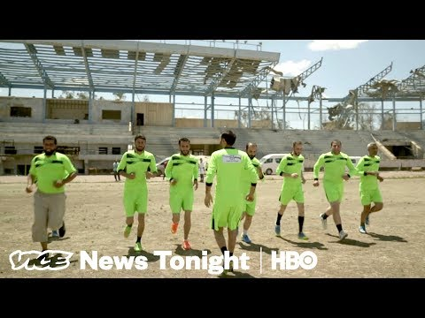 Syria's Prison Soccer Stadium & MoviePass Fail: VICE News Tonight Full Episode (HBO)