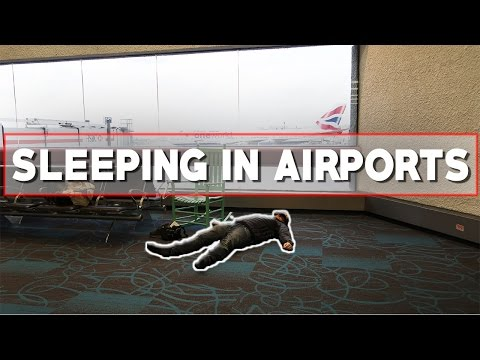 Sleeping In Airports For 3 Days!
